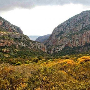 Hamash Gorge in the Leshiba Wilderness Game Reserve
